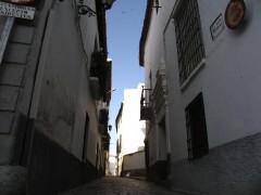Calle Mendoza desde la placeta de Villalegre (JmGM)