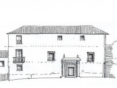 Alzado de la fachada principal (PE)