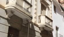 Fachada de la calle Concepción y torre izquierda (MR)