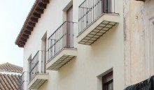 Fachada de la vivienda (MR)