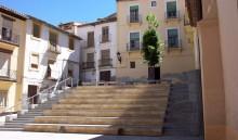 Fachada y plaza en la actualidad (JmGM)