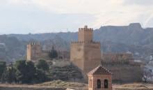 Vista general de la alcazaba desde el campanario de la catedral (MR)