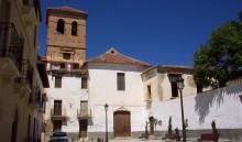 Fachada principal de la iglesia y convento de San Francisco (JmGM)