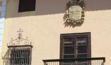 Detalle de la fachada en la calle Ancha (MR)