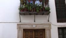 Puerta de acceso y balcón (JmGM)