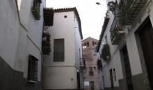 Calle Mendoza desde la Plaza del Conde Luque (JmGM)